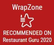 WrapZone recommended on restaurant Guru 2020