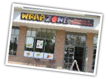 WrapZone franchise restaurant