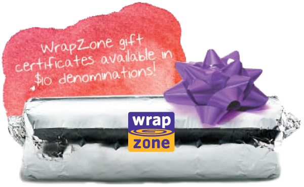 WrapZone gift certificates available in $10 denominations! | packaged wrap